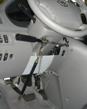 Hand Controls for Gordon B's Vehicle